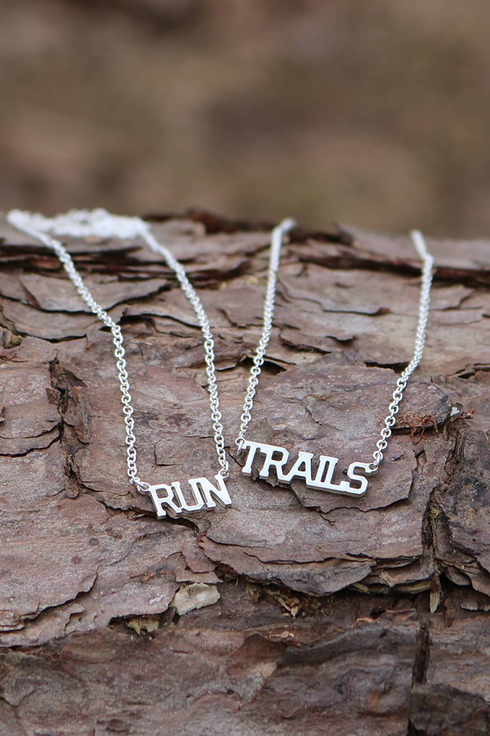 RUN Necklace - Sarah Marie Design Studio