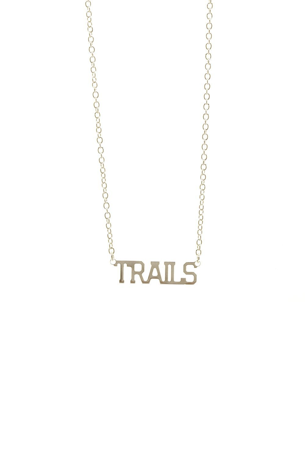 Sarah Marie Design Studio Necklace Sterling Silver / Fine Cable TRAILS Necklace