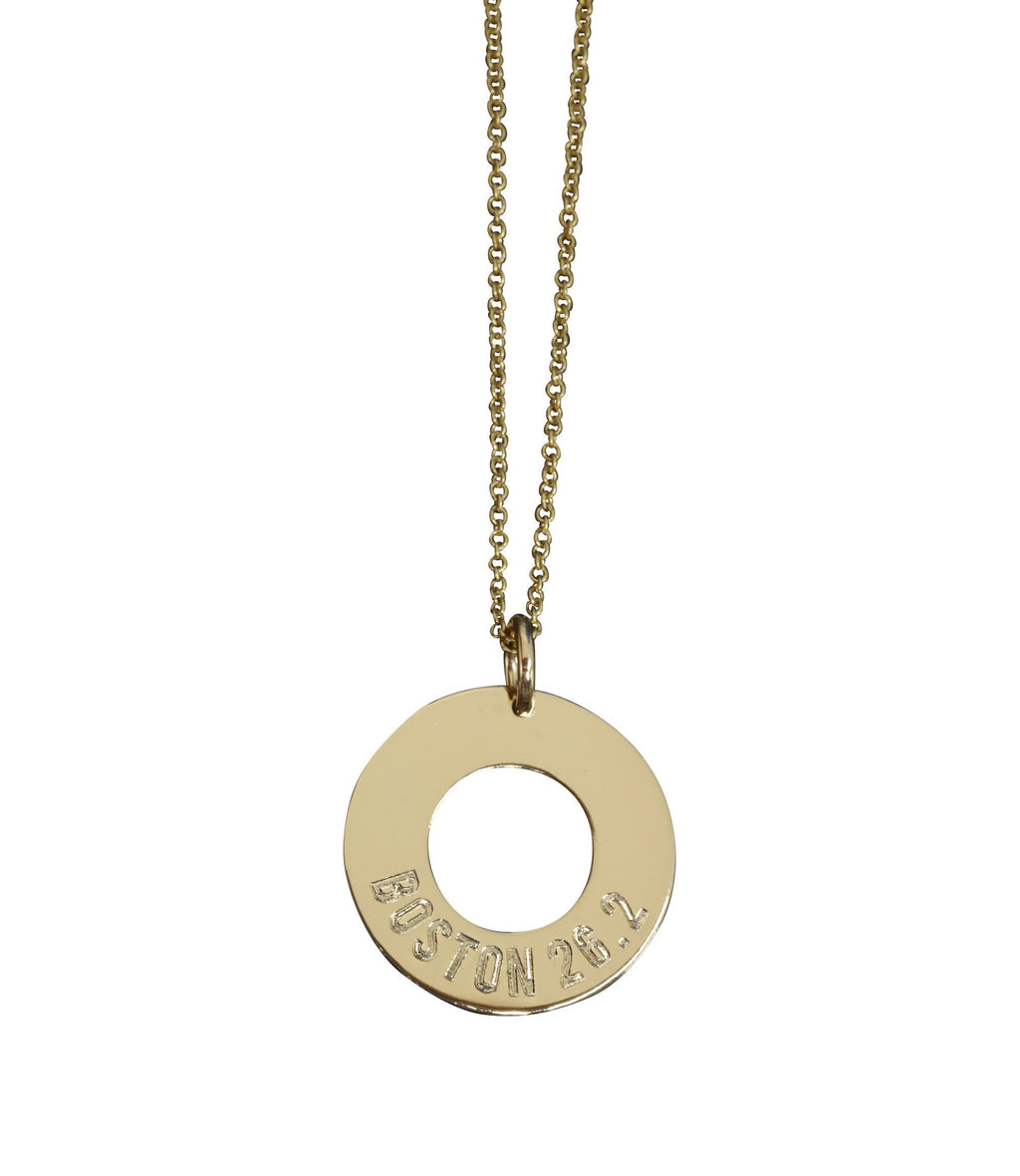 Boston 26.2 Necklace - Sarah Marie Design Studio