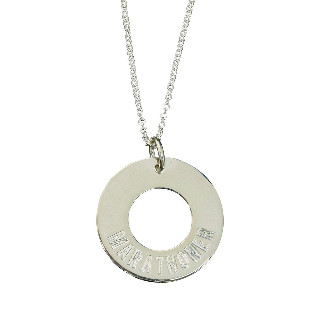 Marathoner Necklace - Sarah Marie Design Studio