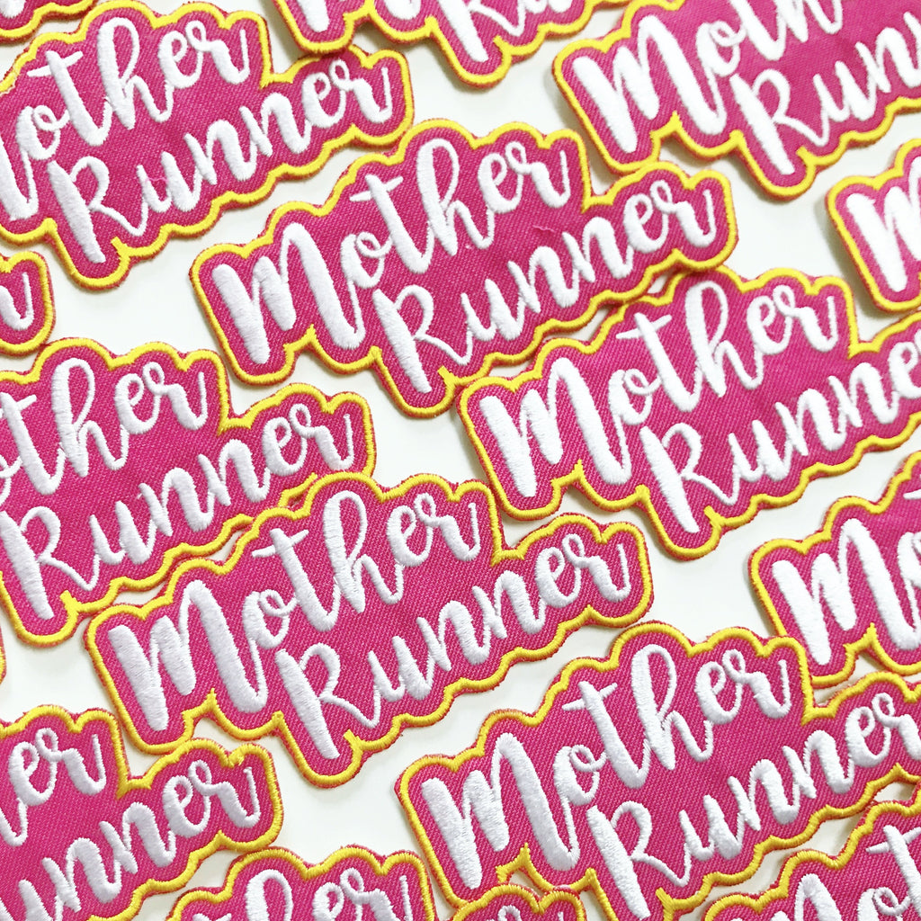 Mother Runner Patch - Sarah Marie Design Studio