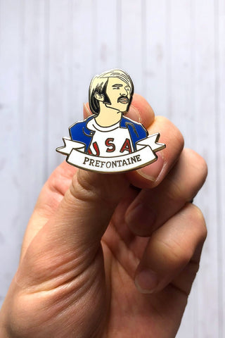 Run Squad Pin
