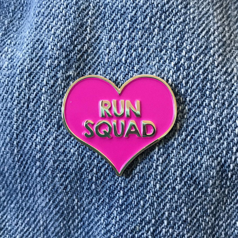Run Squad Pin - Sarah Marie Design Studio