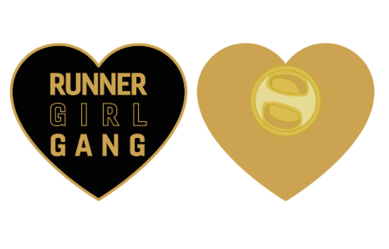 Runner Girl Gang™ Heart Pin - Sarah Marie Design Studio