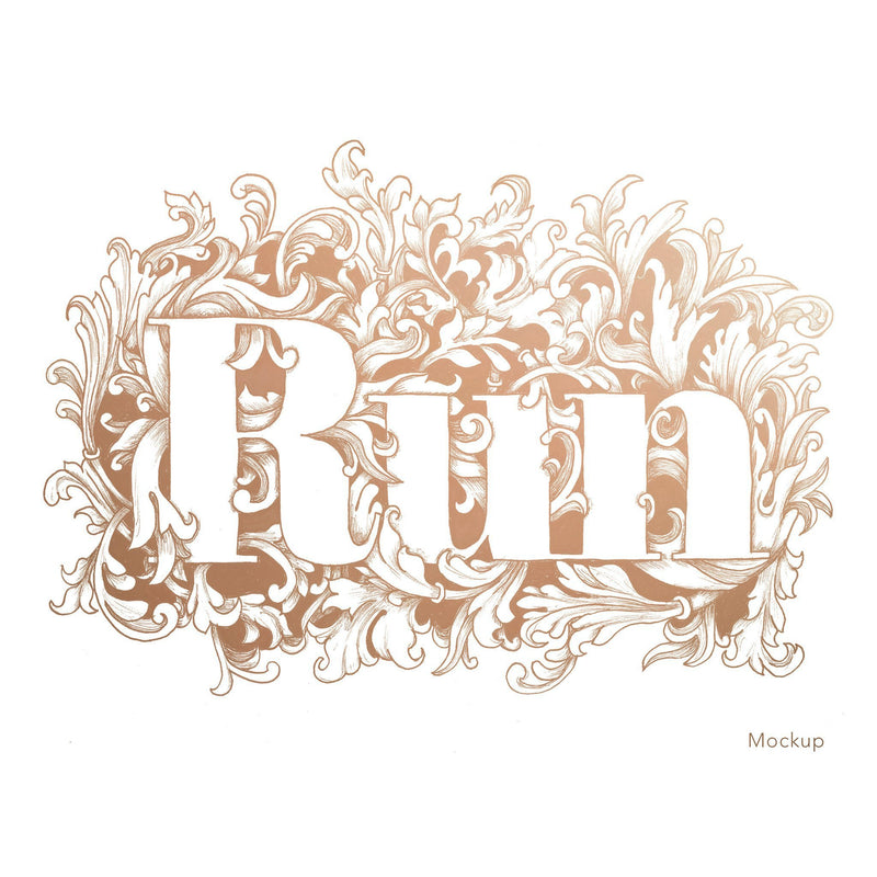 Run Print - Sarah Marie Design Studio