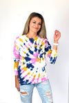 Out-of-Office Tie-dye Sweatshirt - Sarah Marie Design Studio