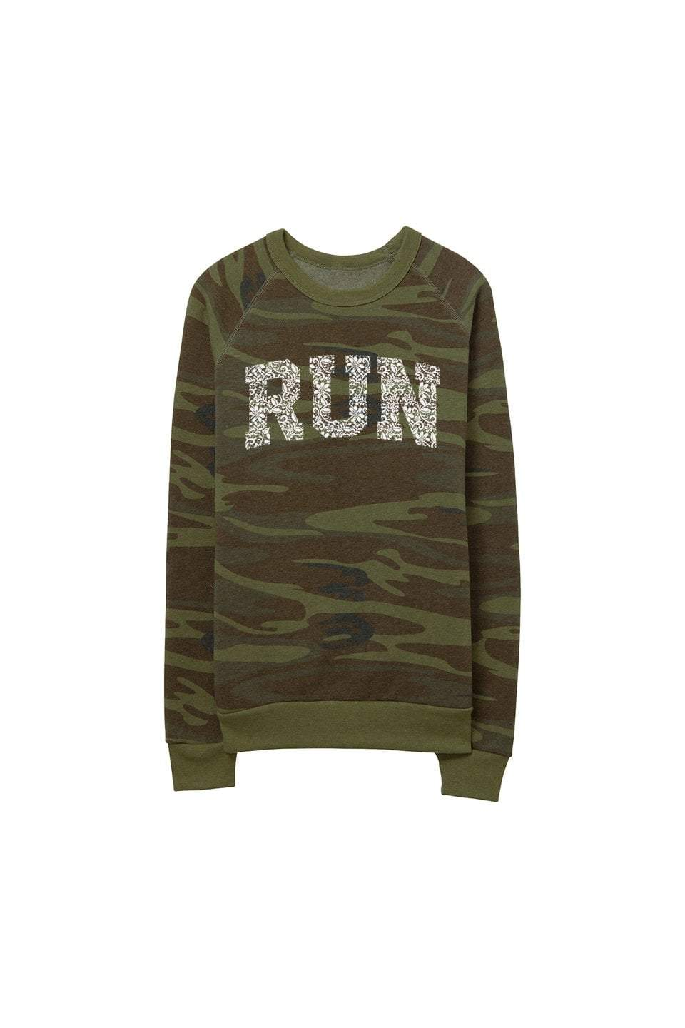 Sarah Marie Design Studio Sweatshirt RUN Lace Camo Sweatshirt