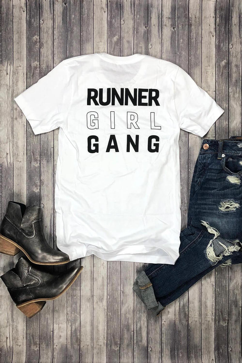 Runner Girl Gang T-Shirt - Sarah Marie Design Studio