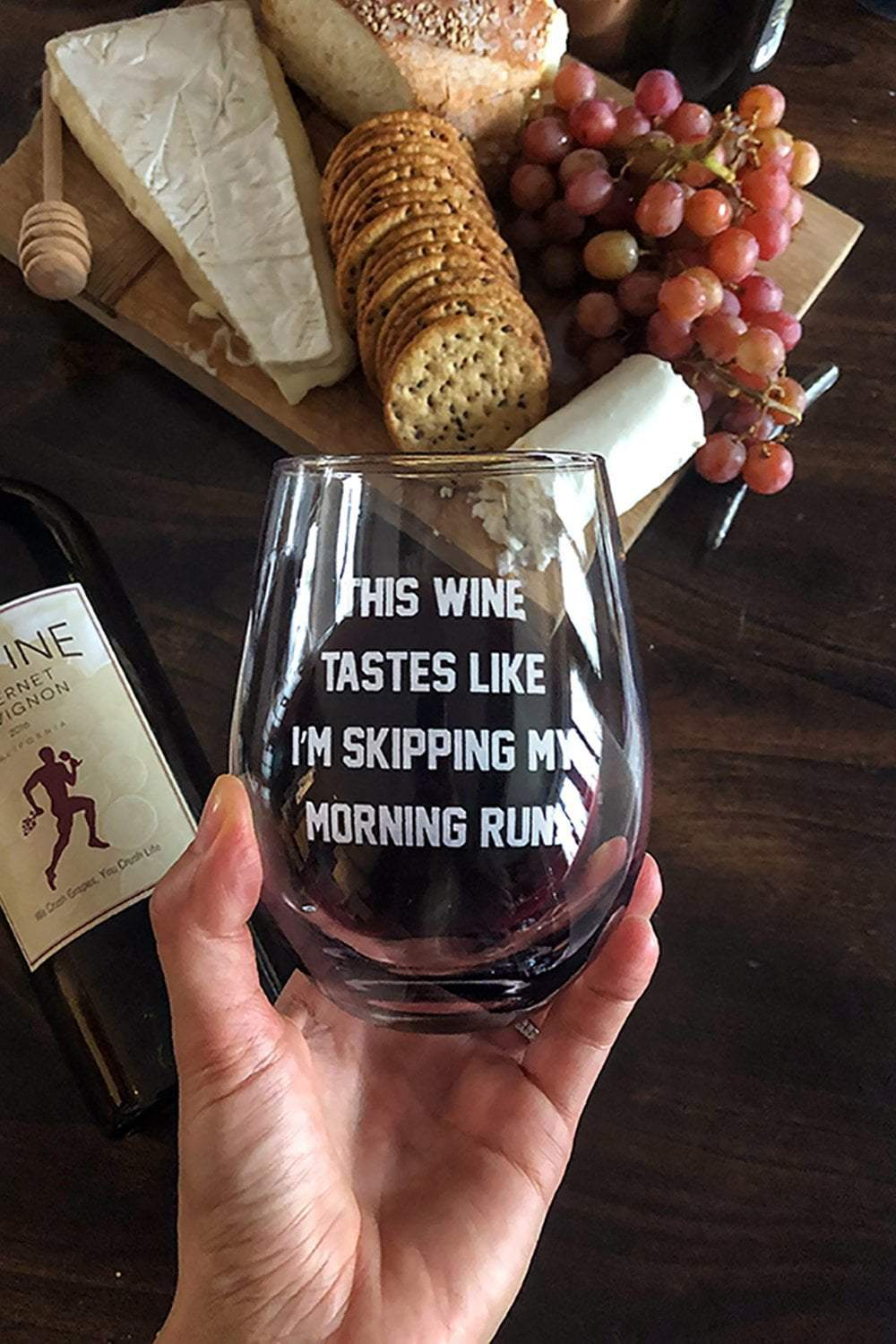 This Wine Tastes Like Wine Glass Sarah Marie Design Studio