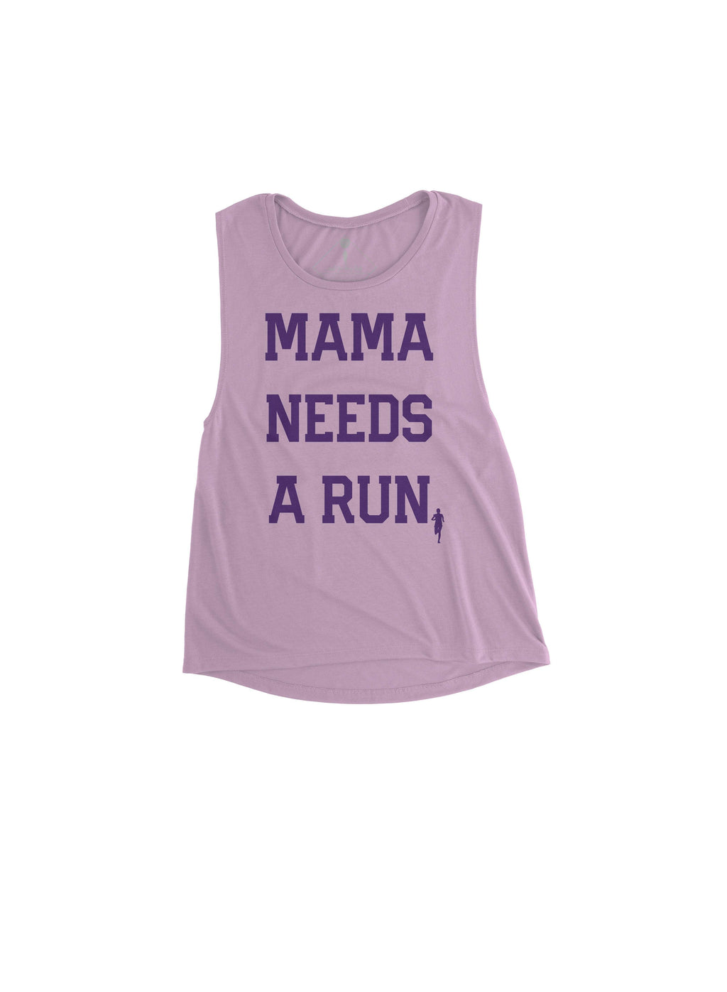Mama Needs A Run Muscle Tank - Sarah Marie Design Studio
