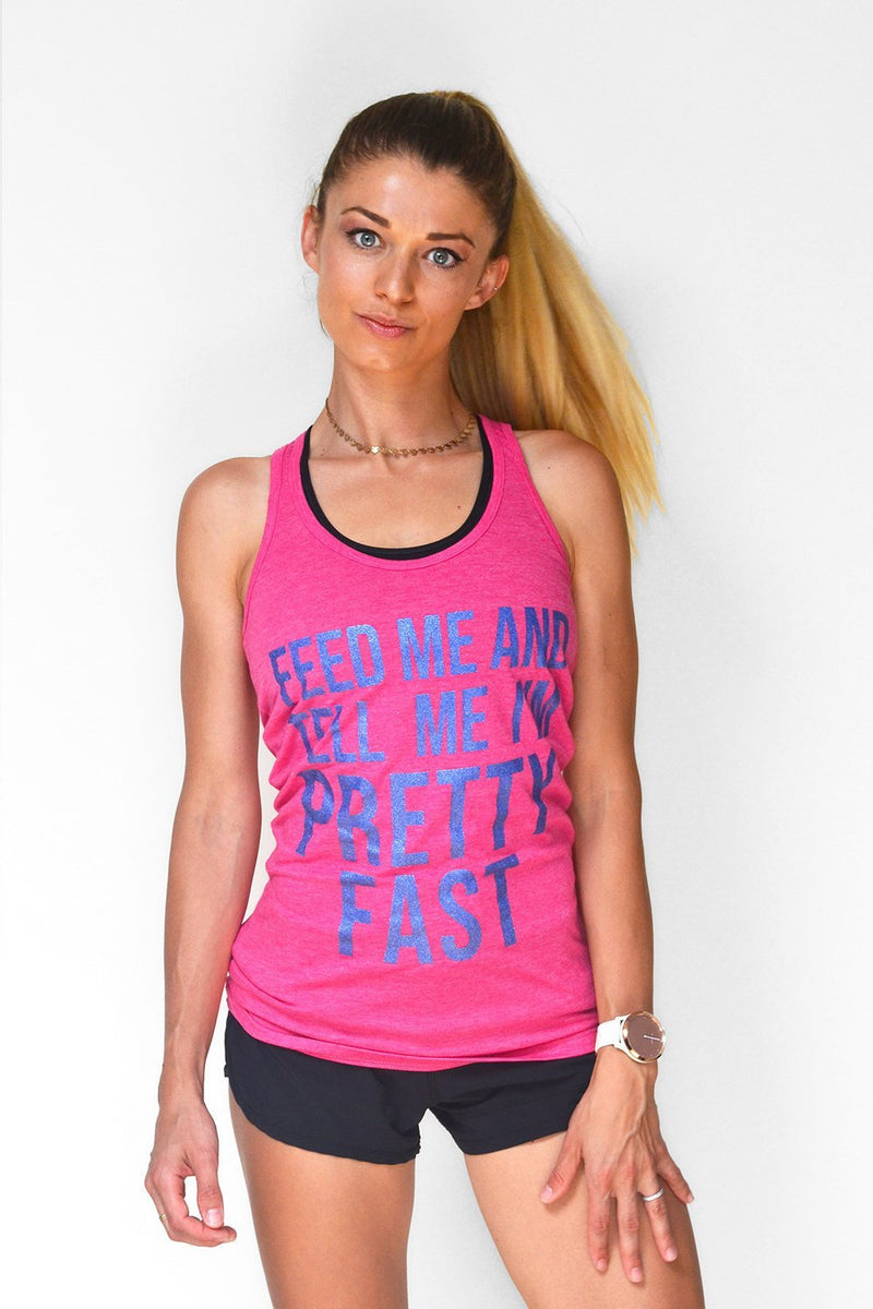 Feed Me And Tell Me I'm Pretty Fast - Sarah Marie Design Studio