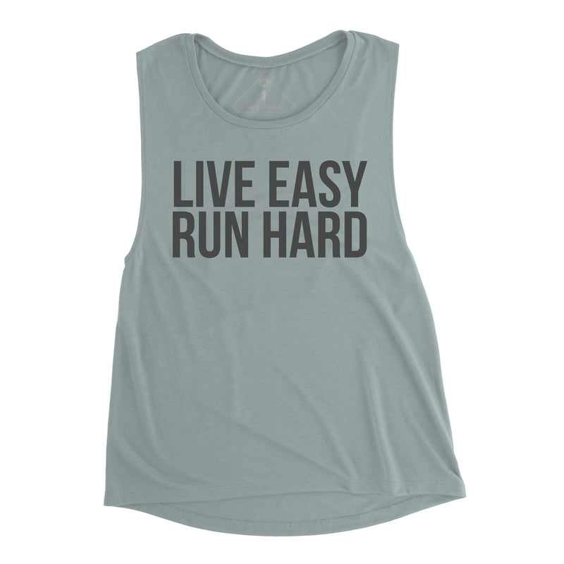 Live Easy Run Hard Muscle - Sarah Marie Design Studio