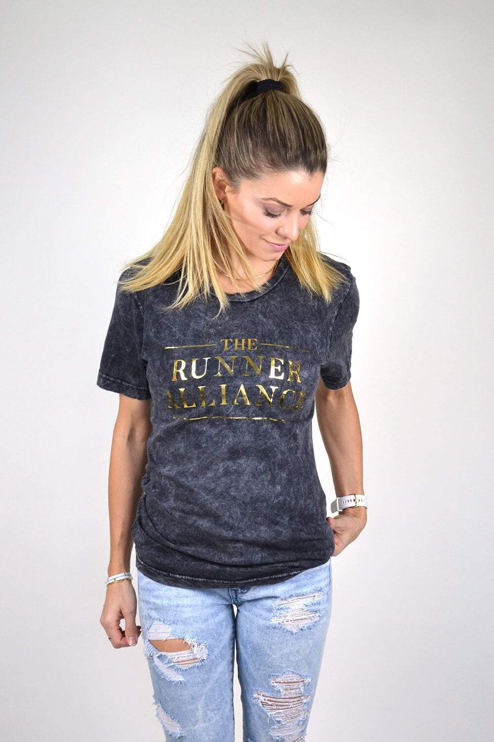 The Runner Alliance T-Shirt - Sarah Marie Design Studio