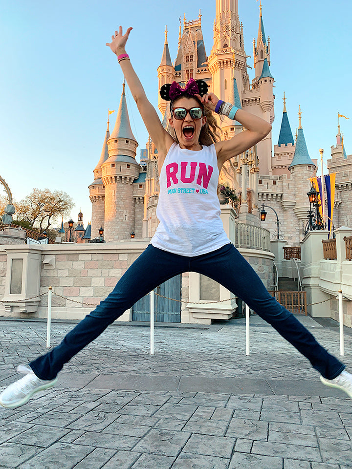 Run Disney Shirt - Run Main Street USA