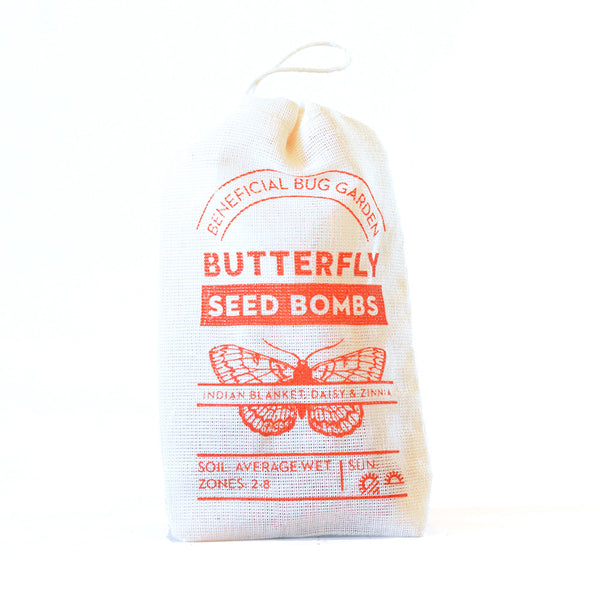 BUTTERFLY BENEFICIAL BUG SEED BOMBS