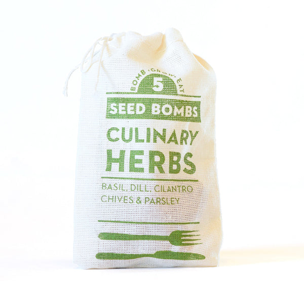 CULINARY HERB SEED BOMBS