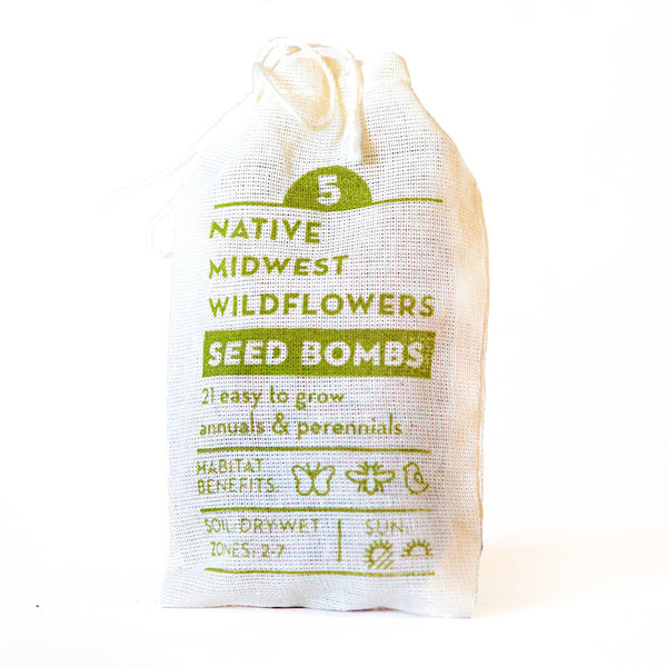 NATIVE MIDWEST WILDFLOWER SEED BOMBS
