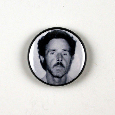 Henry Lee Lucas | 1 Inch Pinback Button | Serial Killer