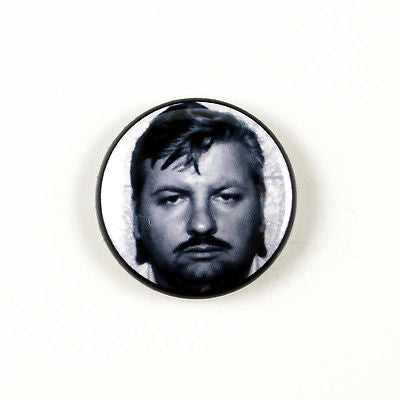 John Wayne Gacy The Killer Clown| 1 Inch Pinback Button | Serial Killer