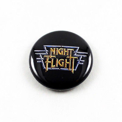 Night Flight Logo | 1 Inch Pinback Button