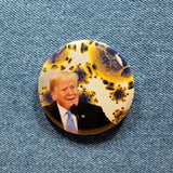 Trump VS. Covid-19 | AKA The COVIDIOT | 2 1/4 Pinback Button