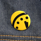 Doomsday Clock | 2 Minutes to Midnight | Pinback Button 4 Colors