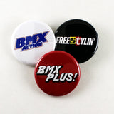 Old School BMX Magazine Logos | Pinback Buttons