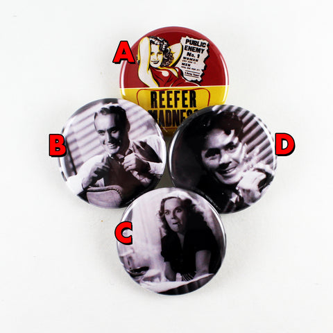 Reefer Madness | Pinback Buttons
