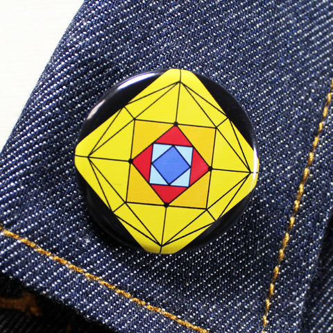 Suspiria Stained Glass | 1 1/4 Inch Pinback Button