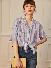 (US Only) Amanda Tencel Floral Shirt