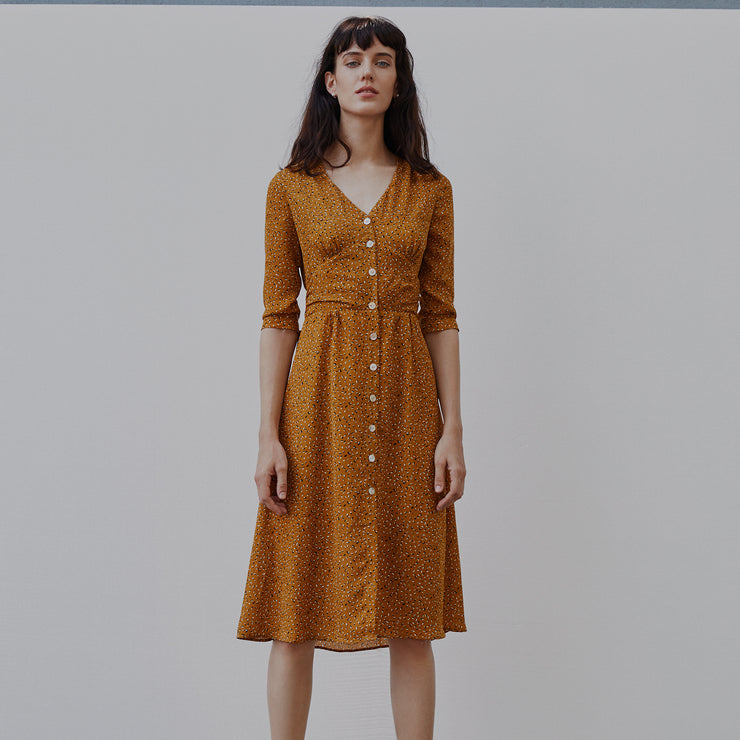 Clara Chiffon Tea Dress