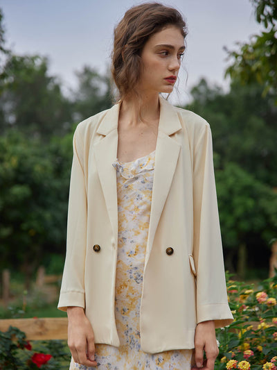 Joanne Chiffon Blazer/Simple Retro/22066