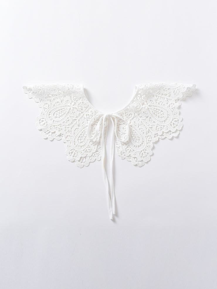 Kersen Embroidery Bow Tie