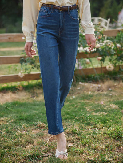 Gemma High-Waisted Jeans/Simple Retro/22011