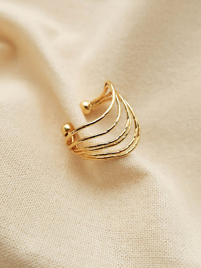 Amy Wave Ring/Simple Retro/33317