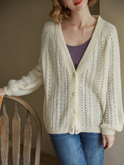 Edana Knitting Cardigan/Simple Retro/22123
