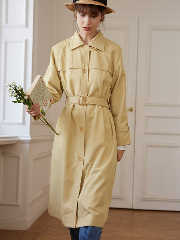 Vivien Long Trench Coat