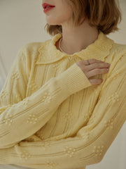 Jasmine Knitwear-Yellow
