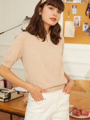 Jannie Wool Jumper - Creamy- Yellow