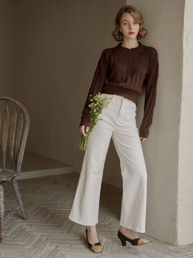Jasmine Knitwear-Brown