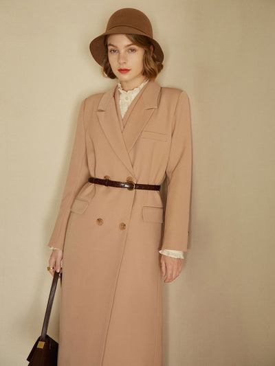 Jamila Long Coat/Simple Retro/11157