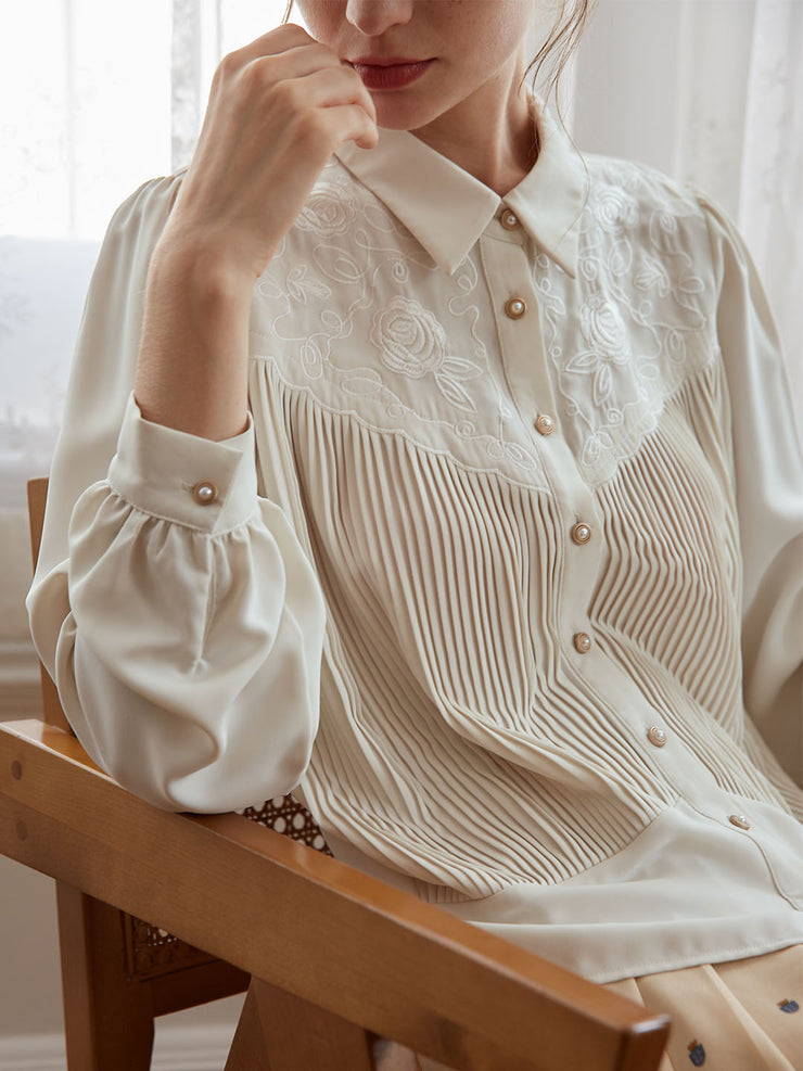 Abby Embroidery Blouse