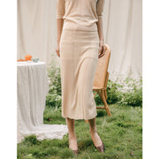 Eveline Icy Silk Skirt