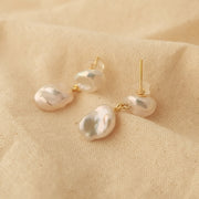 Zona Baroque Pearl Earrings