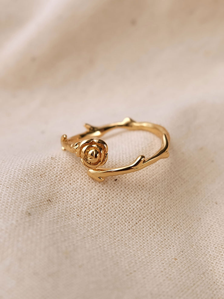 Rose Branch Ring