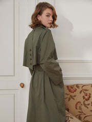 Eleanora Long Trench Coat