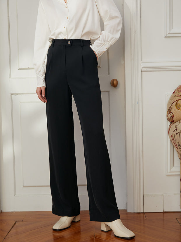 Kora Black Trousers