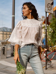 Julia Lace Blouse