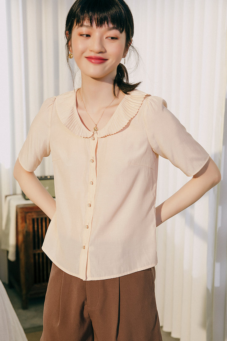 Theresa V-Neck Blouse