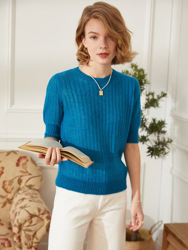 Ada Peacock Blue Jumper